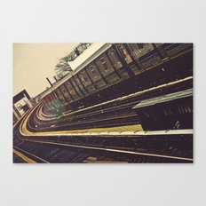 Meet me in the city Canvas Print