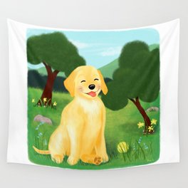 A Golden Day Wall Tapestry