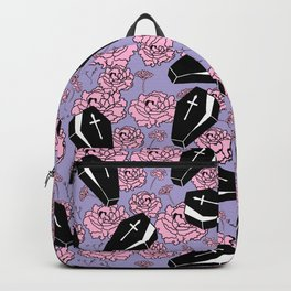 Coffins and Flowers Backpack