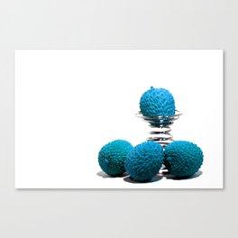 Blue lychee Canvas Print