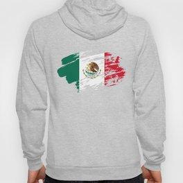 Mexico Flag Tee Hoody
