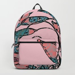 Camouflage Foliage Backpack