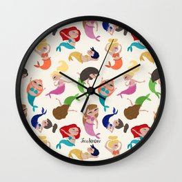 Baby Mermaids Wall Clock