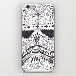 Day of the Dead Trooper iPhone Skin