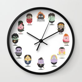 The little croquettes Music Wall Clock