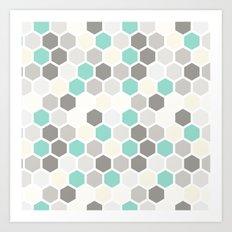 Geometric one Art Print