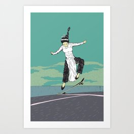 [ LET YOURSELF GO! ] The Vietnamese lady. Art Print