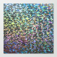 holographic Canvas Prints featuring Holographic I by Featured Interiors