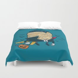 Spooky Pancake Duvet Cover