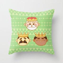 Three Wisemen Throw Pillow