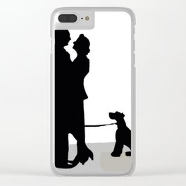 The Thin Man Clear iPhone Case