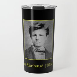 Etienne Carjat - Portrait of Rimbaud Travel Mug