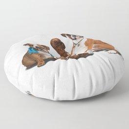 Raging (Wordless) Floor Pillow