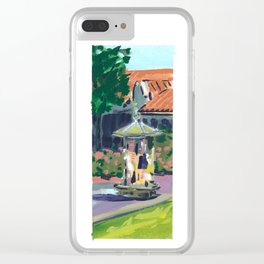 Stanford Campus Clear iPhone Case