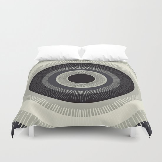 Eye Just Can't Duvet Cover