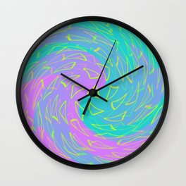 fluid waves Wall Clock