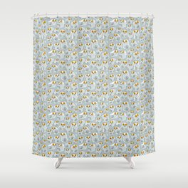 Snowy Owls. Shower Curtain
