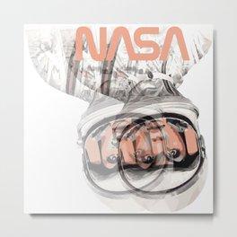SpaceGirl Metal Print