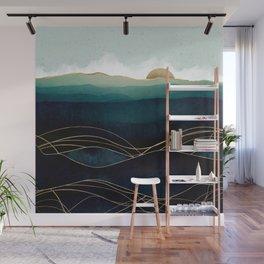 Indigo Waters Wall Mural