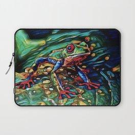 Tree Frog Dream | Painting Laptop Sleeve