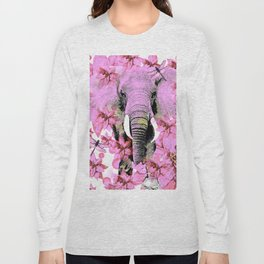 ELEPHANT PINK Long Sleeve T-shirt