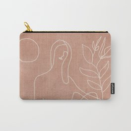 Engraved Nude Line II Carry-All Pouch