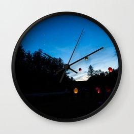 Lanterns Wall Clock