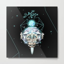 Brilliant Monkey Metal Print