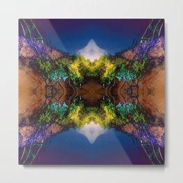 Acid-land. Metal Print