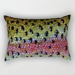 Beautiful Skin, Rainbow Bronze Rectangular Pillow