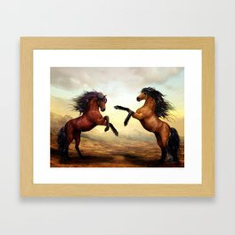 Stallion Ballet Framed Art Print