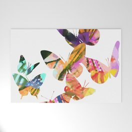 Butterfly Swarm Welcome Mat