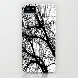 Dark forest iPhone Case
