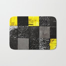 square collage Bath Mat