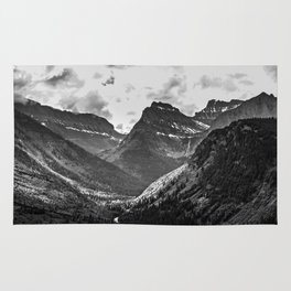 Glacier National Park Rug
