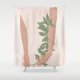 Holding on to a Branch Shower Curtain
