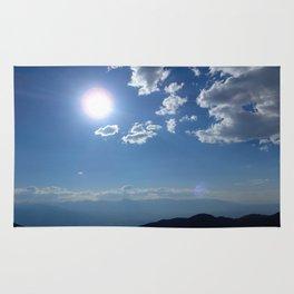 California into Nevada view Rug