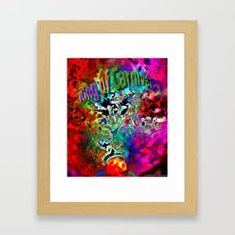 King of Carnival Framed Art Print
