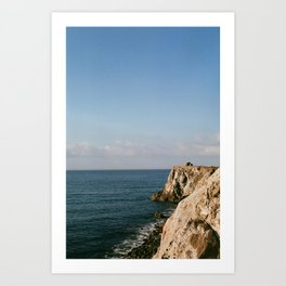 pacific coast highway Art Print