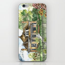 The House on Spring Lane iPhone Skin