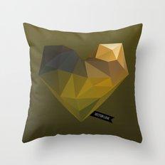 Vector Love 02 Throw Pillow