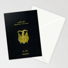 Old Kuwaiti Passport Stationery Cards