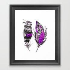 Purplish Framed Art Print
