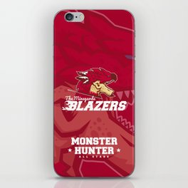 Monster Hunter All Stars - The Minegarde Blazers iPhone Skin