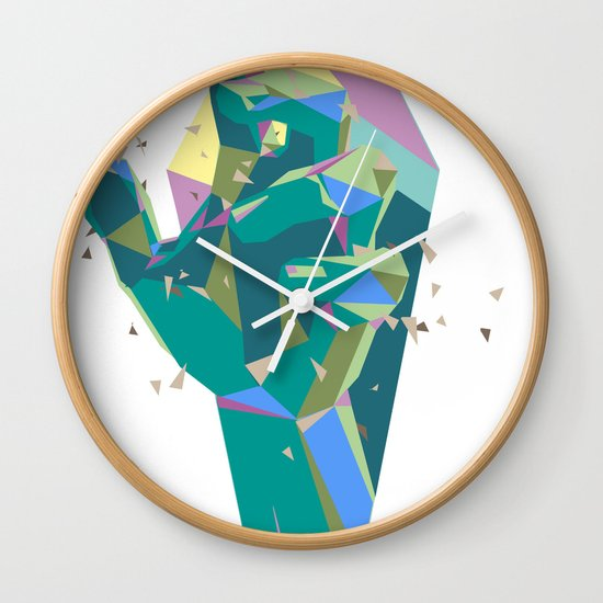 Break On Through To The Other Side Wall Clock