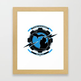 If You Seek a Bad Ass Peninsula... Framed Art Print