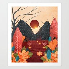 Mystery Garden IV Art Print