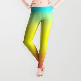 Ombre Magical Rainbow Unicorn Colors Leggings