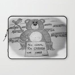 Sad bear 2 Laptop Sleeve