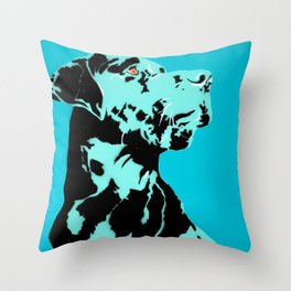 Bigdog Throw Pillow